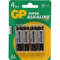GP Super Alkaline Batterij AA 4 Stuks