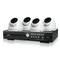 AVtech Starterspakket met 4 1080P domes, vari