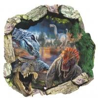 Dinosaurus Muursticker  - 50 x 50 cm