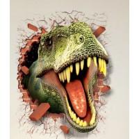 Dinosaurus Muursticker  - 50 x 70 cm