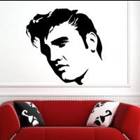 Elvis Presley singer sticker