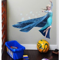 Disney Frozen Muursticker - Elsa - 58 x 60 cm