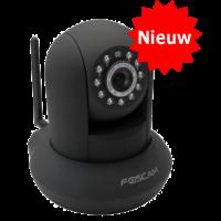Ip Camera Wi-Fi Pan Tilt IR-Cut Foscam FI8910W Zwart