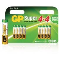 GP Super Alkaline Batterij AAA 8 Stuks