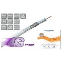 Hirschmann Koka 9 TS 4G LTE Proof Coaxkabel voor CAI en Satelliet 25 meter *NIEUW*