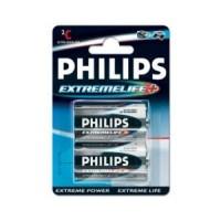 Philips Alkaline Batterij C 2 Stuks Extremelife