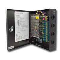 Zelf-Reset CCTV Voedingskast (PSU) 12V/5Amp met 9 uitgangen