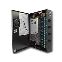 CCTV Voedingskast (PSU) 12V/24Amp met 18uitgangen