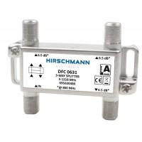 Hirschmann Drievoudig Verdeelelement DFC0631 1218Mhz (vervanger AFC0631)