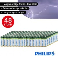 Philips Longlife AA Batterij 4st. 1,5v