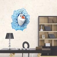 Disney Frozen Muursticker - OLAF DE SNEEUWPOP - 50 x 43 cm