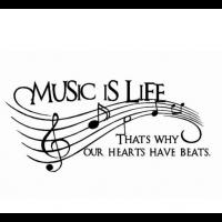 Music is Life sticker